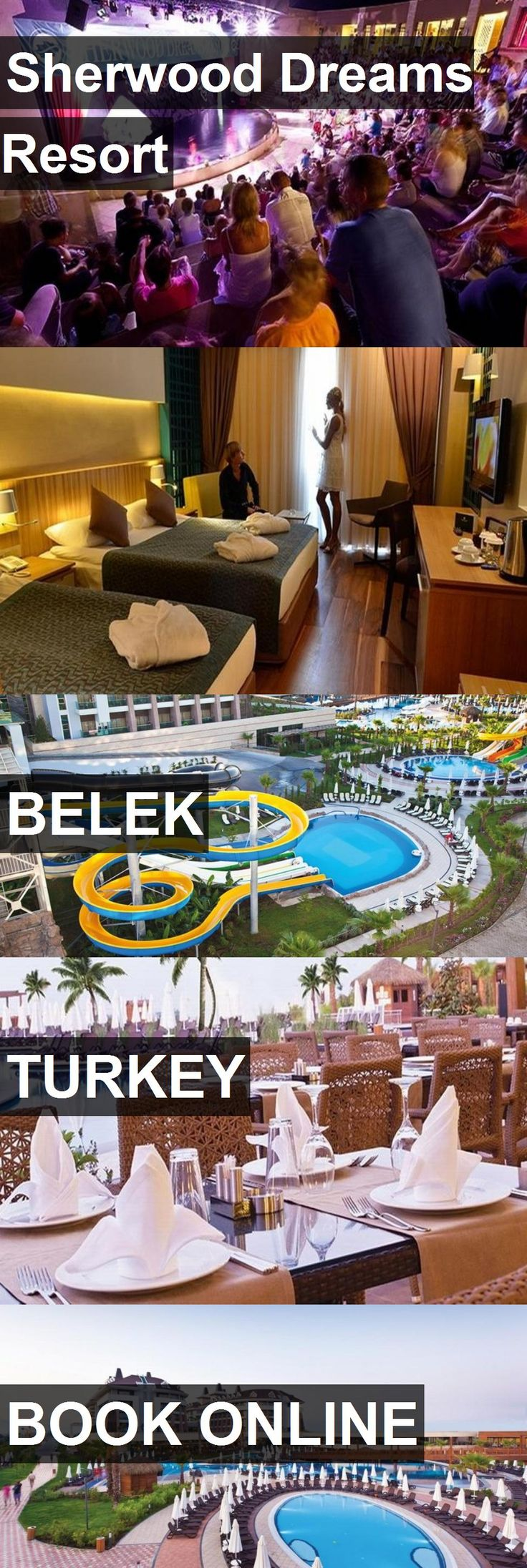 Hotel Sherwood Dreams Resort in Belek, Turkey. For more information, photos, reviews and best prices please follow the link. #Turkey #Belek #travel #vacation #hotel