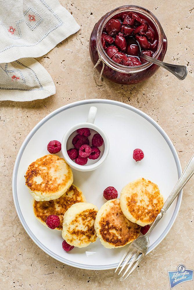 Bezglutenowe placuszki z twarogu/Gluten-free curd cheese pancakes