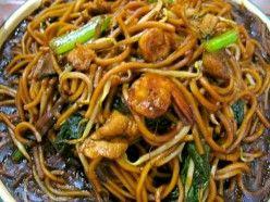 Lo-mein with Shrimp