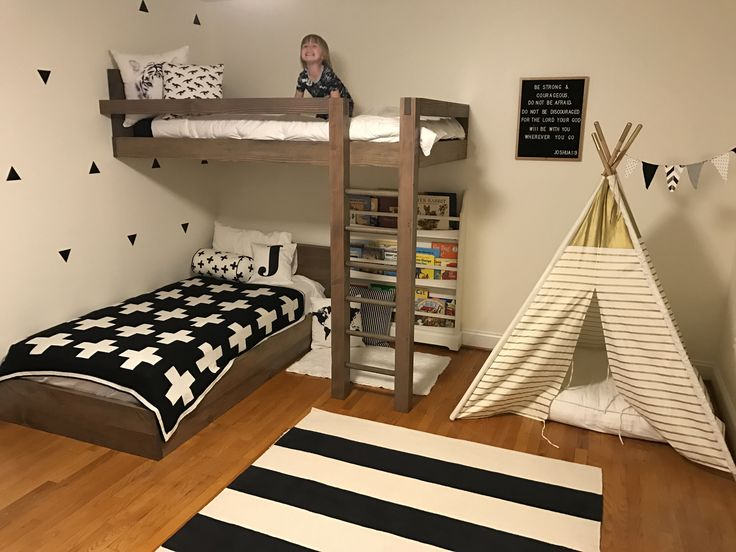 Custom Floating Bunk Bed In 2019 Kids Bunk Beds Bunk