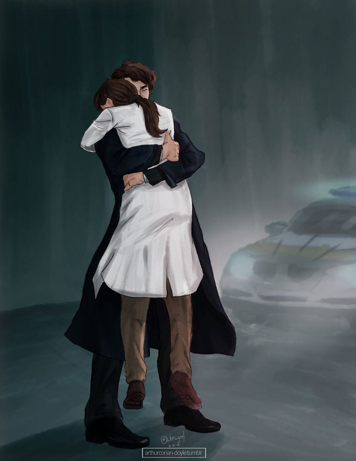 """""""There stood the famous detective in his long Belstaff, holding tightly onto the little pathologist in her white lab coat. Her feet continued to dangle some inches above the ground as he held her in place. Neither of their faces were clearly visible, as they were both pressed into the other's neck. Not that it even mattered. Faces clear or not, it wasn't exactly a mystery as to what they were feeling in that moment."""" <— READ 'I TOLD YOU SO' just damn do it."""