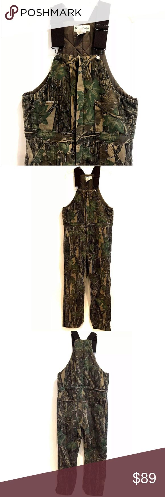 gander mountain camo bib overalls large tall 44 46 gander on insulated overalls for men id=75145