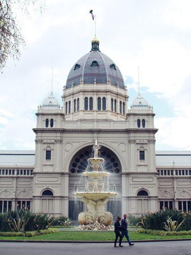 建築ファンなら見に行きたい世界遺産ロイヤル・エキシビション・ビルディング。メルボルン旅行の観光アイデア。