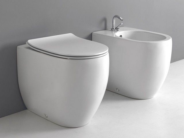 Bagno toilette ~ Best sanitari bagno a terra images contemporary