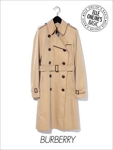 Trench Coat ¥147,000 / Burberry