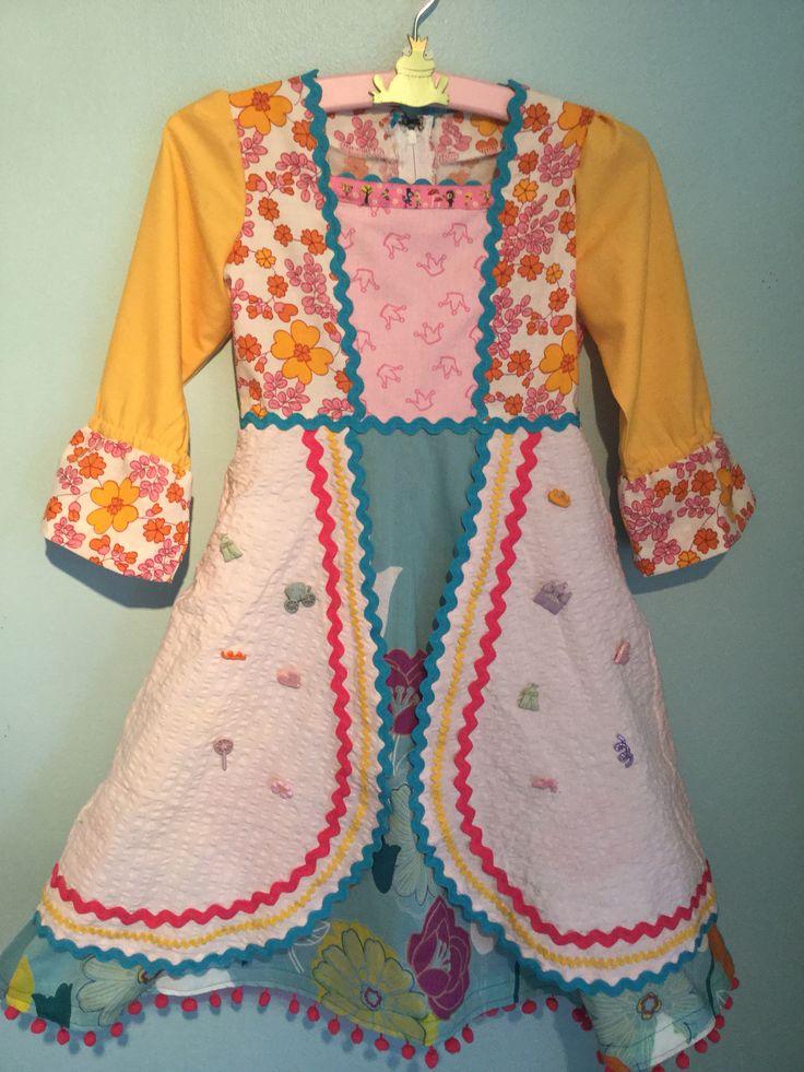 Princessdress made from bedlinen
