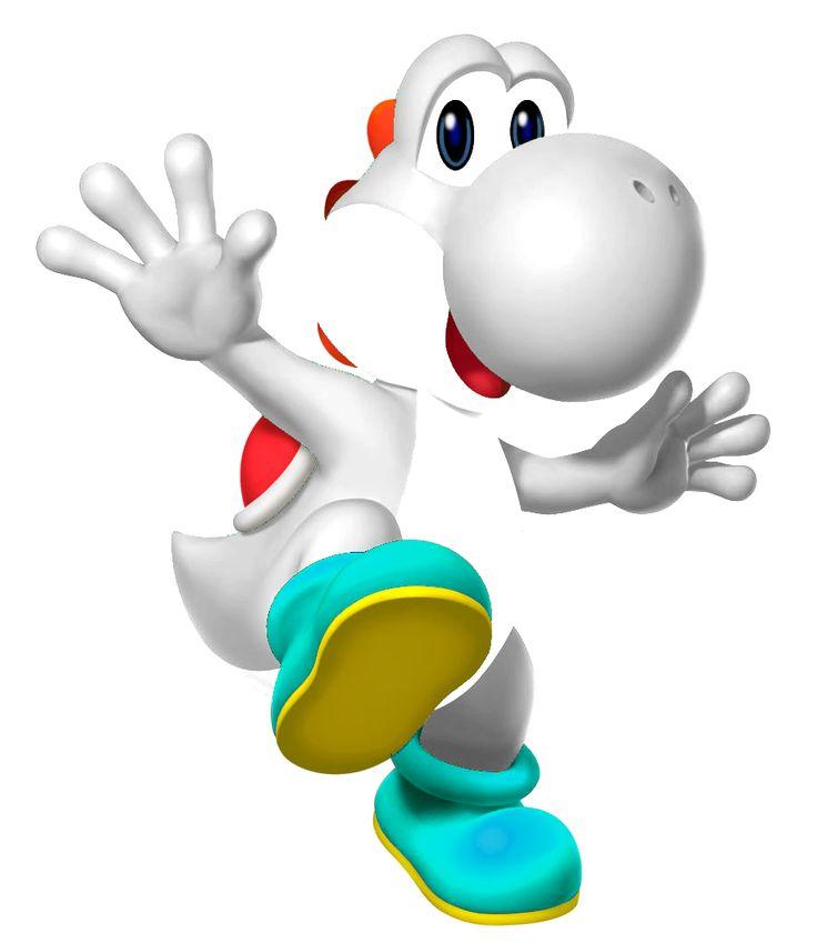 White Yoshi | White Yoshi YBA.png