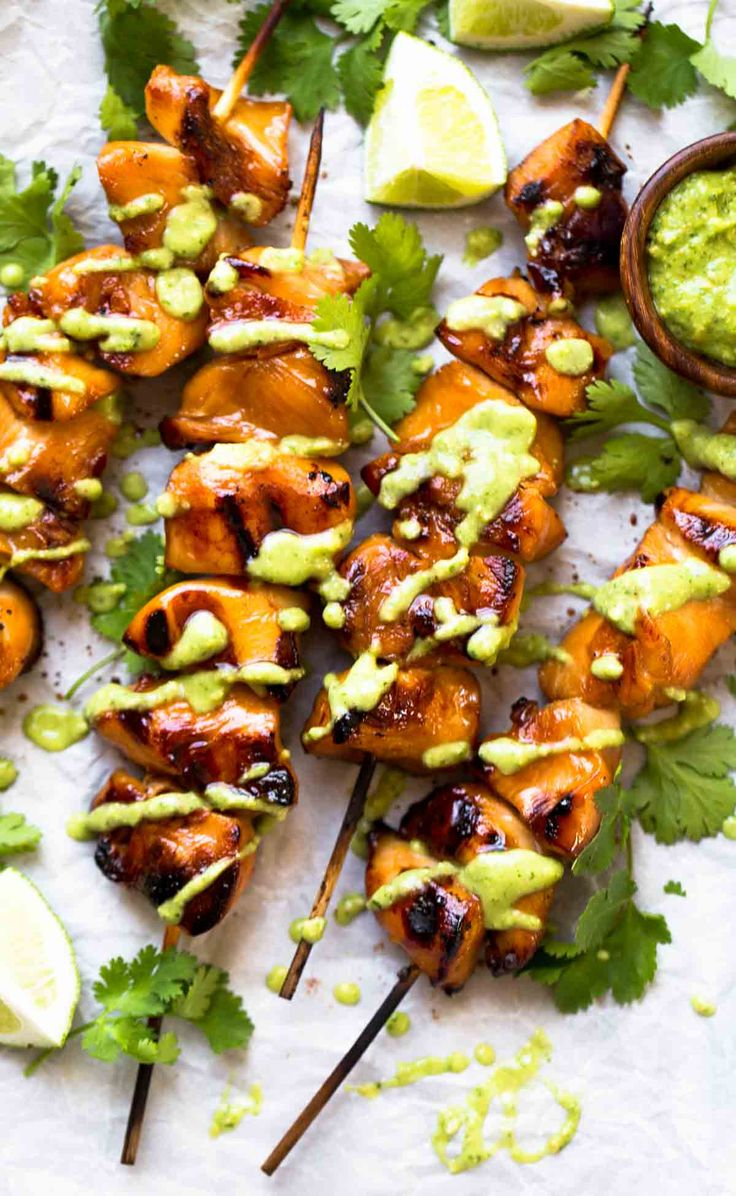 3 Ingredient Grilled Chicken recipe! Simple ingredients - soy sauce, honey, and garlic. Easy, adaptable, and healthy! 200 calories. | pinchofyum.com