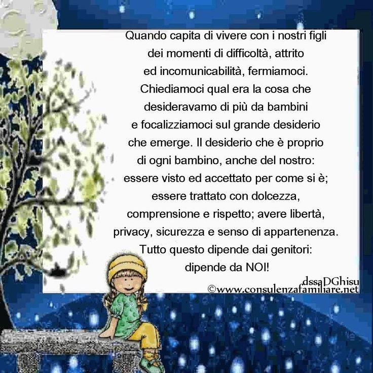 I #bambini hanno un unico, grande desiderio che è di ogni #bambino e che è…