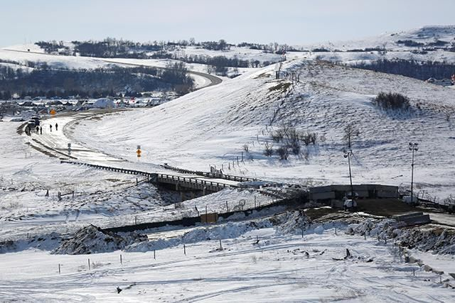 """""""Shortly after Donald Trump directed the U.S. Army Corps of Engineers to fast-track approval of the Dakota Access Pipeline's Missouri River crossing, four legal memoranda related to the project were pulled from the Interior Department website.... [O]ne memo details many failures of the Corps and of Energy Transfer Partners... to meet the requirements of federal law in dealing with the Standing Rock and Cheyenne River tribes."""" #Colonialism #Native #NoDAPL #StandWithStandingRock #WaterIsLife"""
