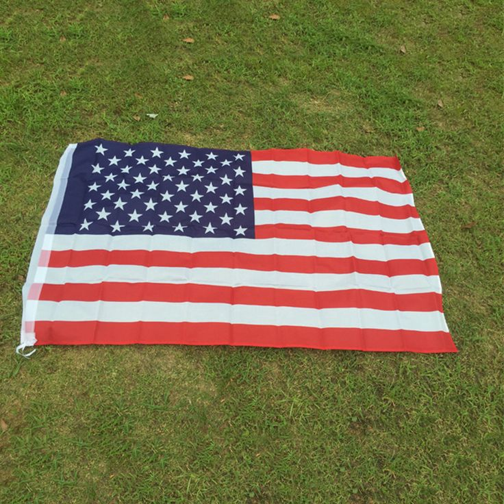 90cmx150cm Polyester USA American Flag United States Stars Stripes Home Decoration Souvenir