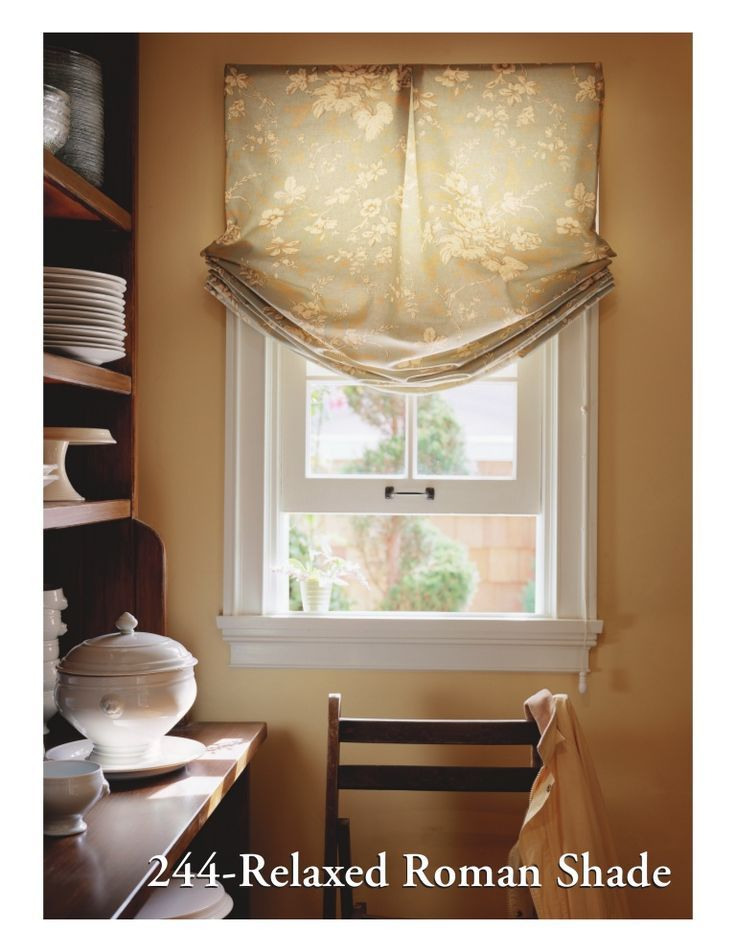 30 best Roman Shades Styles images on Pinterest | Roman blinds ...