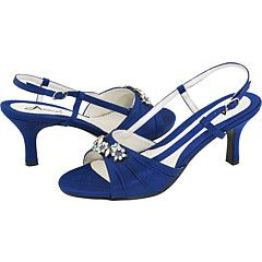 Blue sandals - more appropriate for summer.
