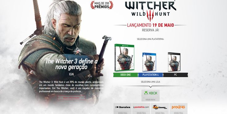Compra - The Witcher 3