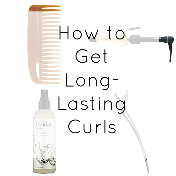 5 Simple Steps to Get Long-Lasting Curls: by my favorite blogger, Kate Bryan of thesmallthingsblog.com
