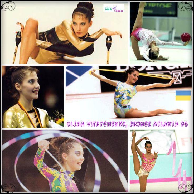 Olena Vitrychenko - Ukrania . Bronce Atlanta 96- 23 medallas mundiales - 23 medallas europeos.