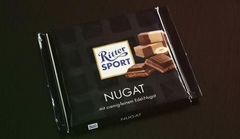 Ritter Sport Nugat mit cremig-feinem Edel-Nugat