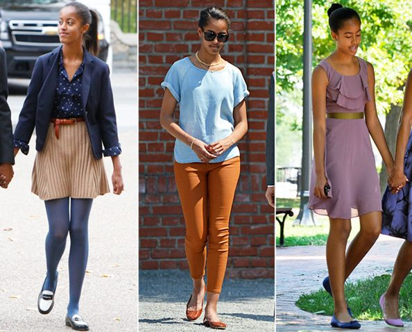 See Malia Obama's Style Evolution  from #InStyle