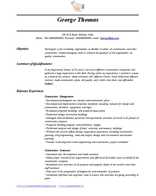 resume exle template australian government resume