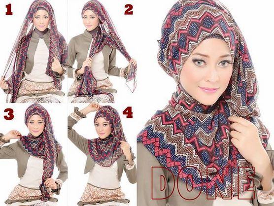 hijab tutorial pashmina - Carian Google