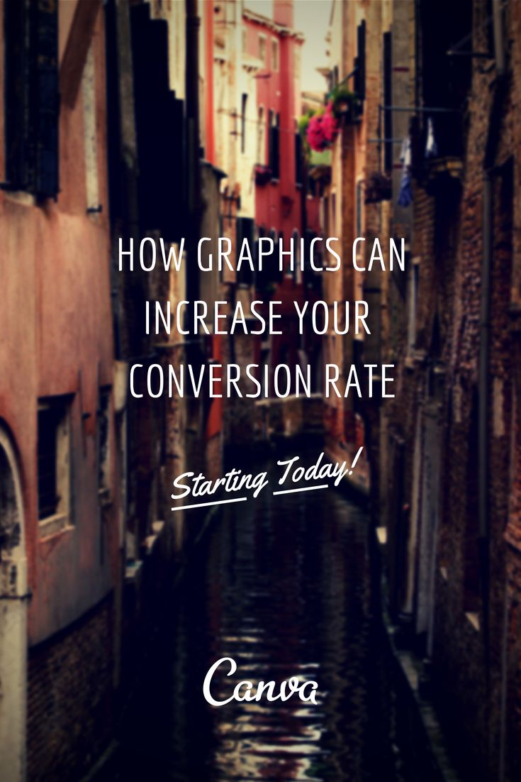How Graphics Can Increase Your Conversion Rate – Starting Today http://blog.canva.com/graphics-increase-conversion-rate/
