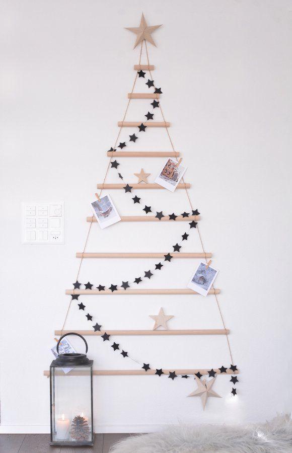 die besten 25 weihnachtsbaum girlande ideen auf pinterest. Black Bedroom Furniture Sets. Home Design Ideas