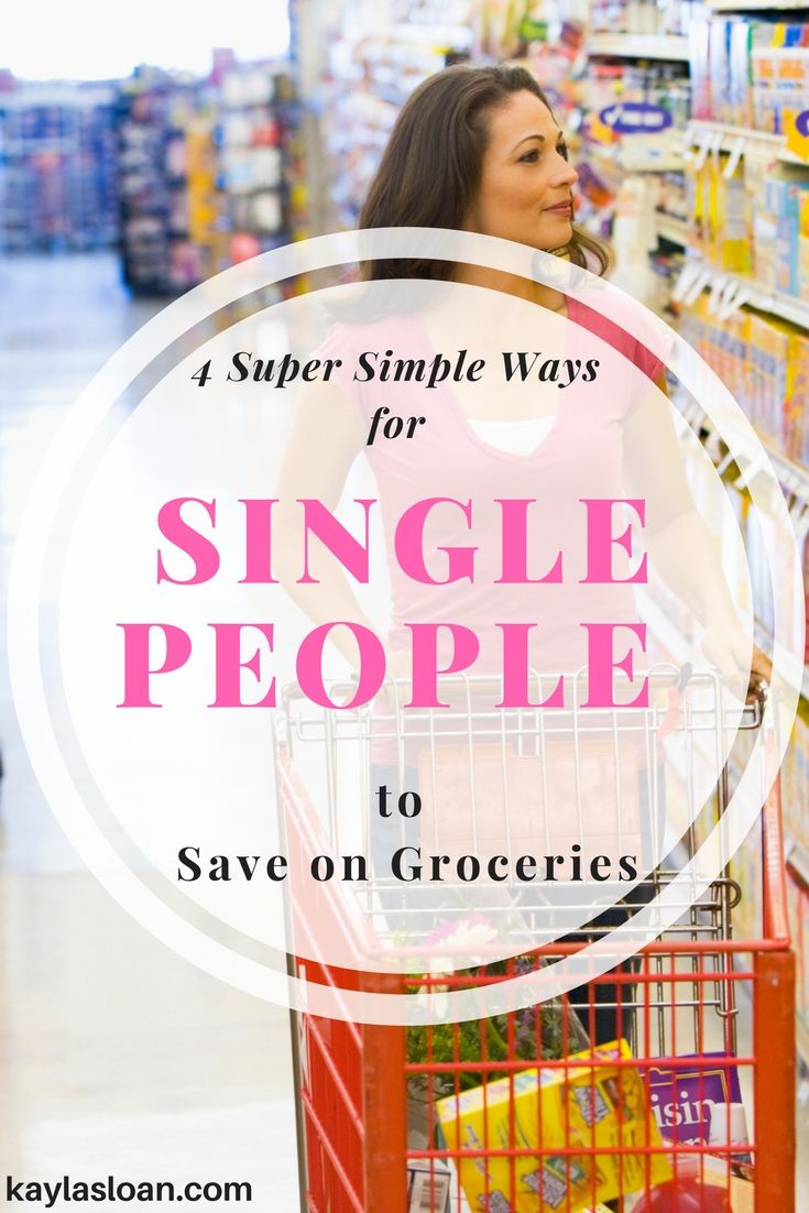 Being single doesn't mean you can't save on groceries. Single people can save on groceries, but it may require a little more creativity and planning.