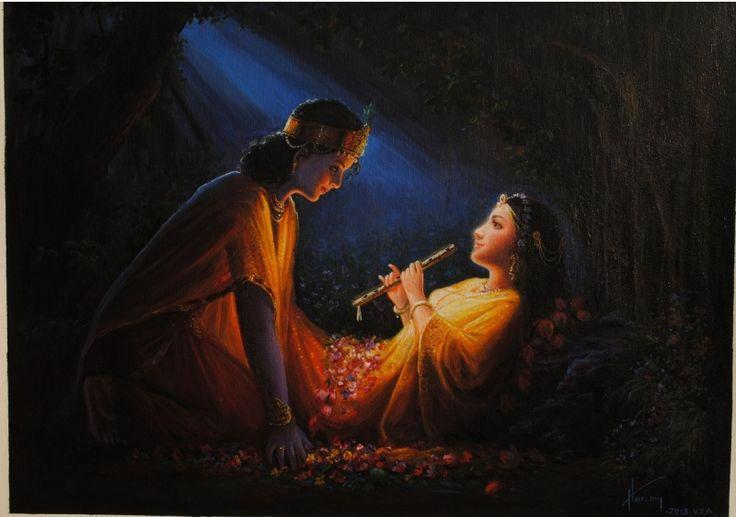 Radha Krishna Paintings of Hariom Singh URL: http://www.artforheart.in/