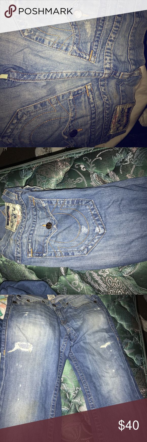 Authentic true religion jeans Size 30 men jeans true religion True Religion Jeans Slim