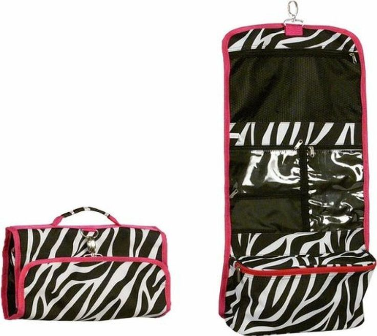 Looking for the perfect Jewelry Hot Pink Trim Zebra Hanging Cosmetic Bag * The Greatest Bag For Travel! *? Please click and view this most popular Jewelry Hot Pink Trim Zebra Hanging Cosmetic Bag * The Greatest Bag For Travel! *.