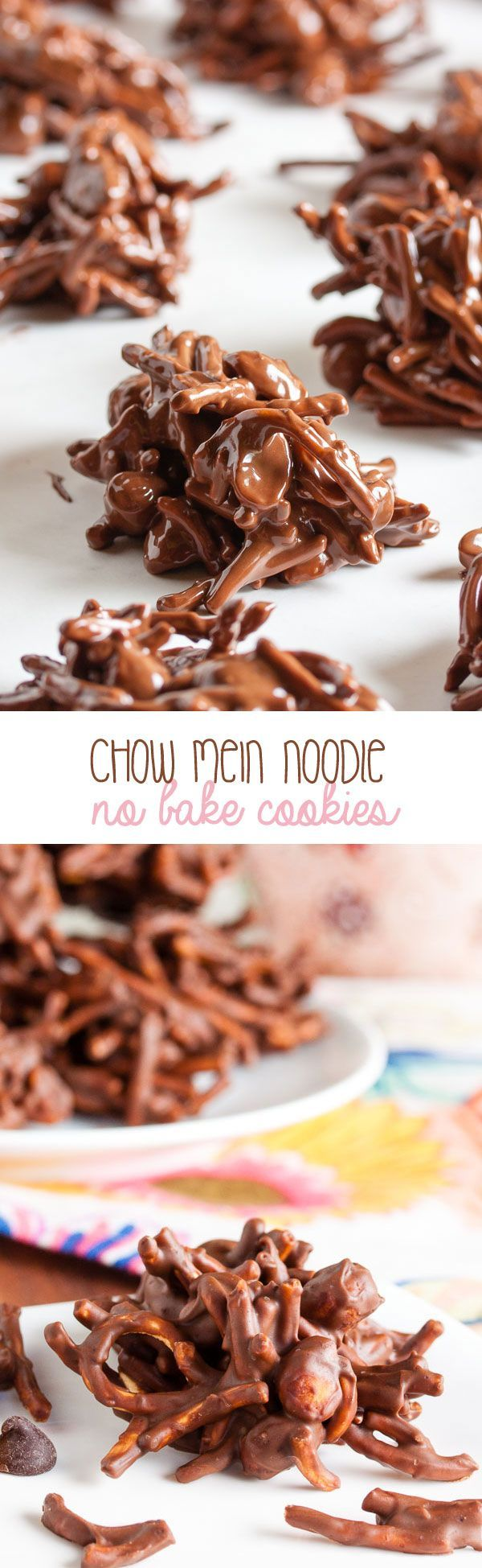 Chow Mein Noodle Cookies – sweet and crunchy and slightly salty.
