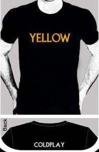 Coldplay T Shirts fix you viva la vida chris martin. this is Elise's shirt