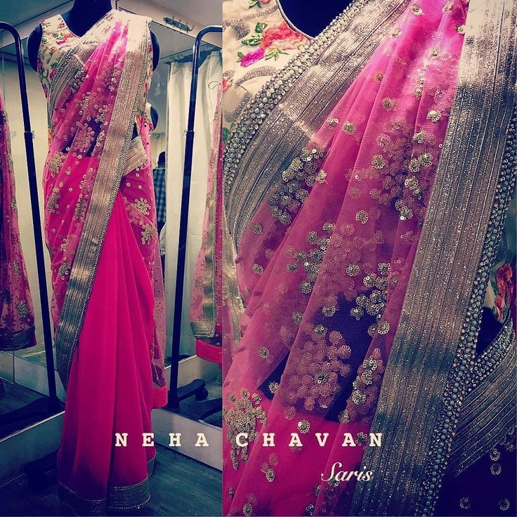 Pink affair  Get in touch for purchase on fashion@nehachavan.com or drop in your email id in the comment below and we will get back to you soon. This product can be customised. We deliver worldwide. #NC #NehaChavan #fashion #fashiondesigner #fashionatyourdoorstep #customised #designerwear #indianwear #indiansaree #saris #pink #loveforfashion #tagsforlikes #picoftheday #instalike #instalove #instapic