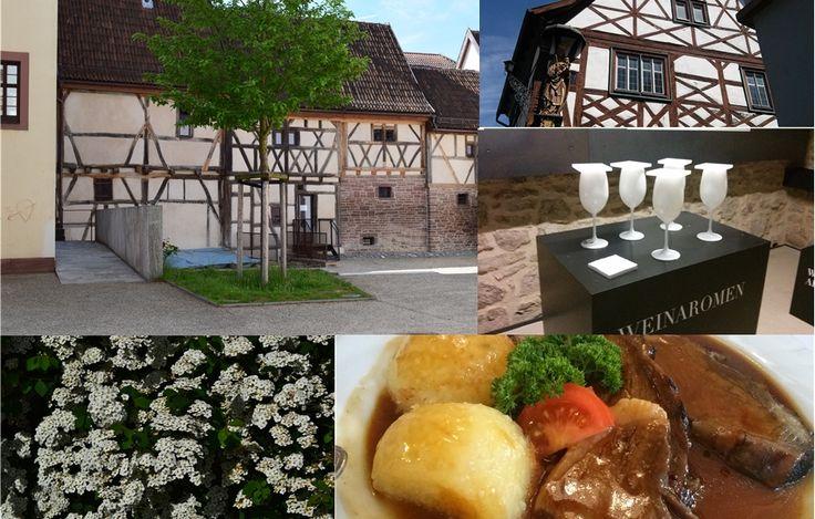Weinkultur und fränkische Spezialitäten in Thüngersheim  ... #twowomo #wein #franken #genuss