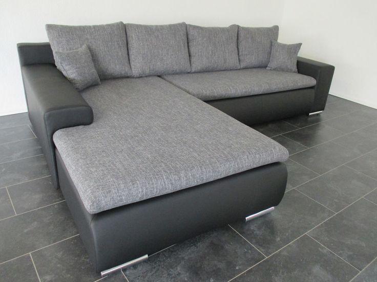 die besten 25 wohnlandschaft g nstig kaufen ideen auf pinterest wohnlandschaft g nstig couch. Black Bedroom Furniture Sets. Home Design Ideas