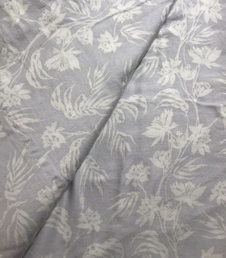 Tommy Bahama Home Queen Flat Sheet Gray Tropical   | eBay