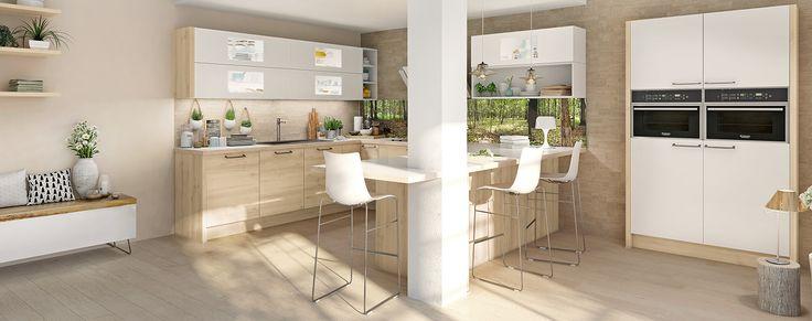 17 meilleures id es propos de cuisine ixina sur pinterest ixina cuisine plans de design de - En ingerichte keuken americaine ...