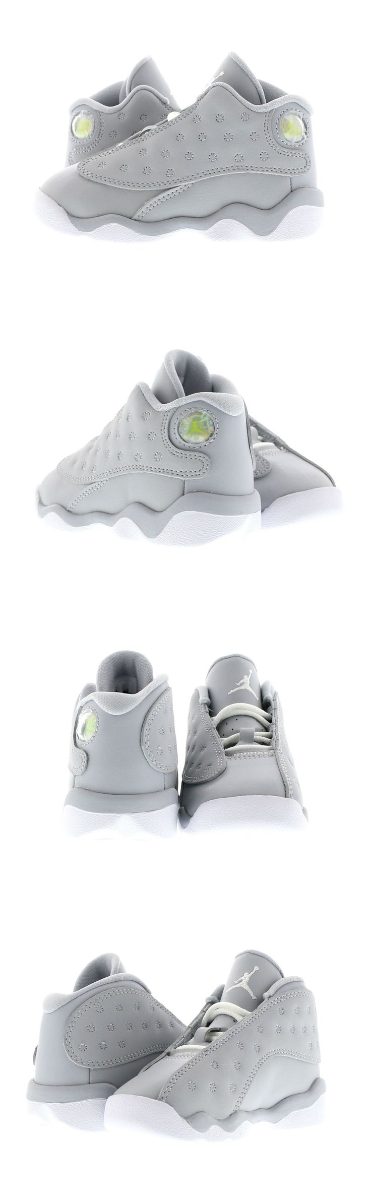 Baby Shoes 147285: Infant (Td) Air Jordan 13 Retro Wolf Grey White-Pink 684802-018 -> BUY IT NOW ONLY: $50 on eBay!