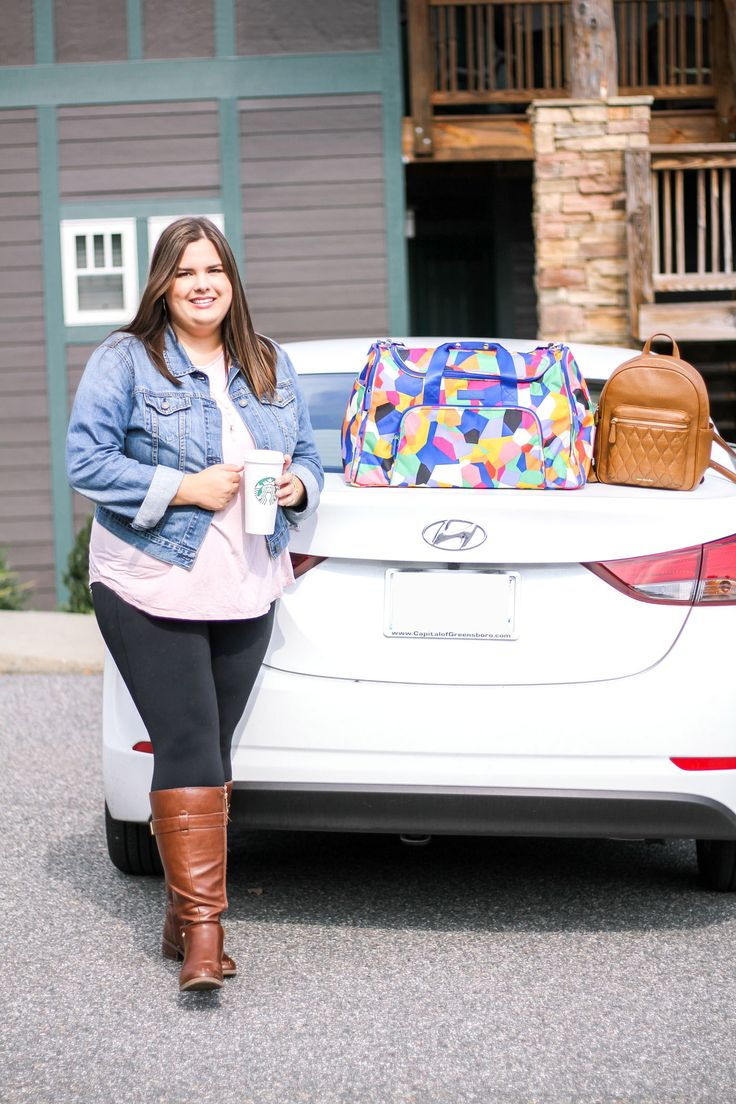 Vera Bradley Travel Bag- Fall Girls Weekend Getaway