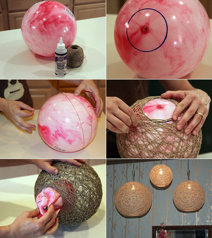 DIY lantern tutorial.