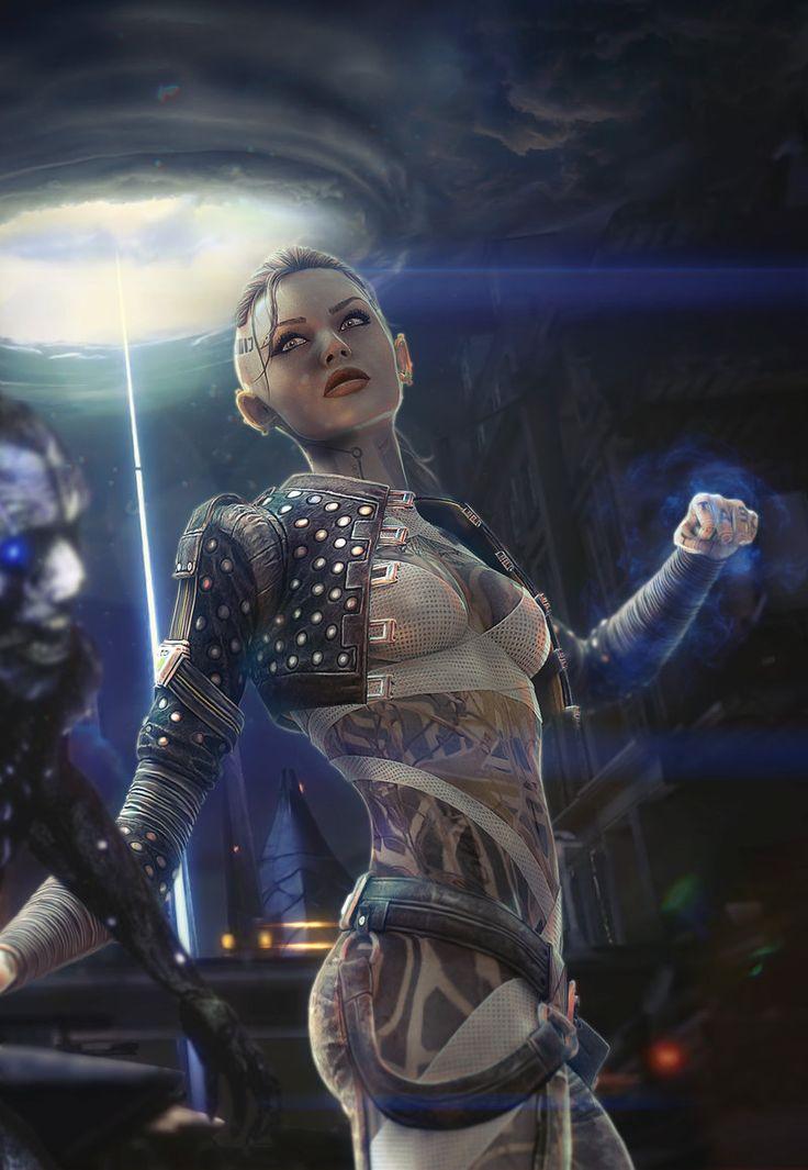 Jack in London - Mass Effect by brinx2.deviantart.com on @deviantART
