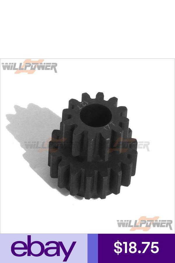 Model CAGE//Mammoth G.V RC-WillPower Pinion Gear 12T // 17T #MV312171