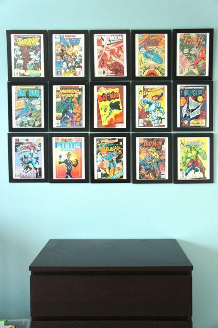 Comic Book Collage