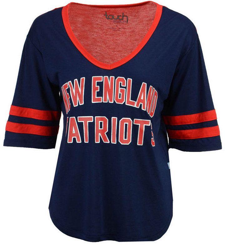 Touch By Alyssa Milano Women's New England Patriots Quarterback T-Shirt