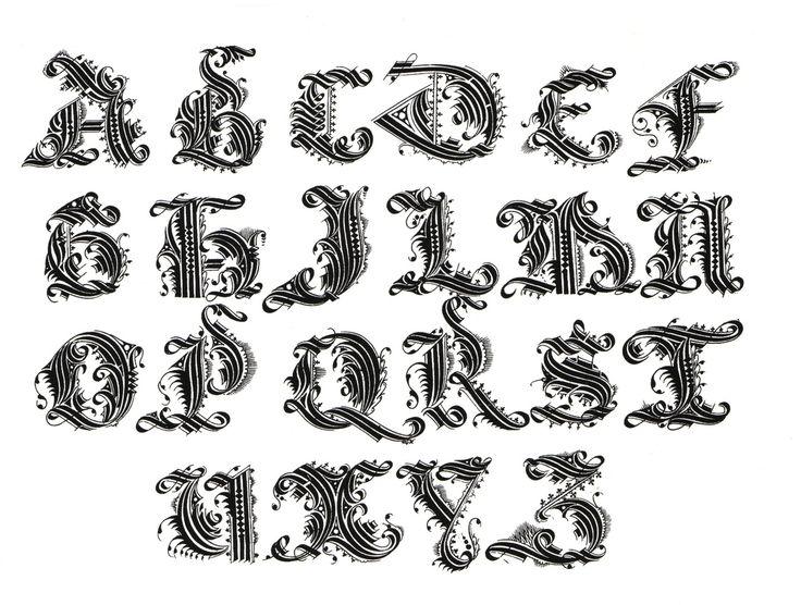 Картинки с разным шрифтом