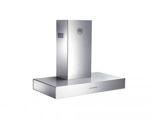 Bertazzoni 90cm stainless steel rangehood (model K90 CON XA)  for sale at L & M Gold Star (2584 Gold Coast Highway, Mermaid Beach, QLD). Don't see the Bertazzoni product that you want on this board? No worries, we can order it in for you!