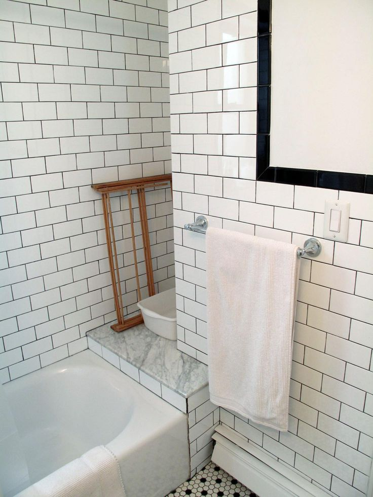 subway tile in the bathroom | bexley street | Pinterest