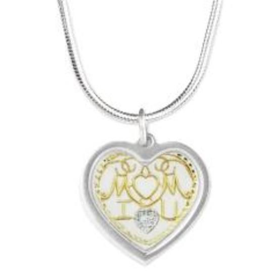 Checkout this amazing product mom Silver Heart Necklace at Shopintoit