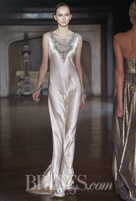 Johanna Johnson Wedding Dresses Fall 2014 Bridal Runway Shows | Wedding Dresses Style | Brides.com