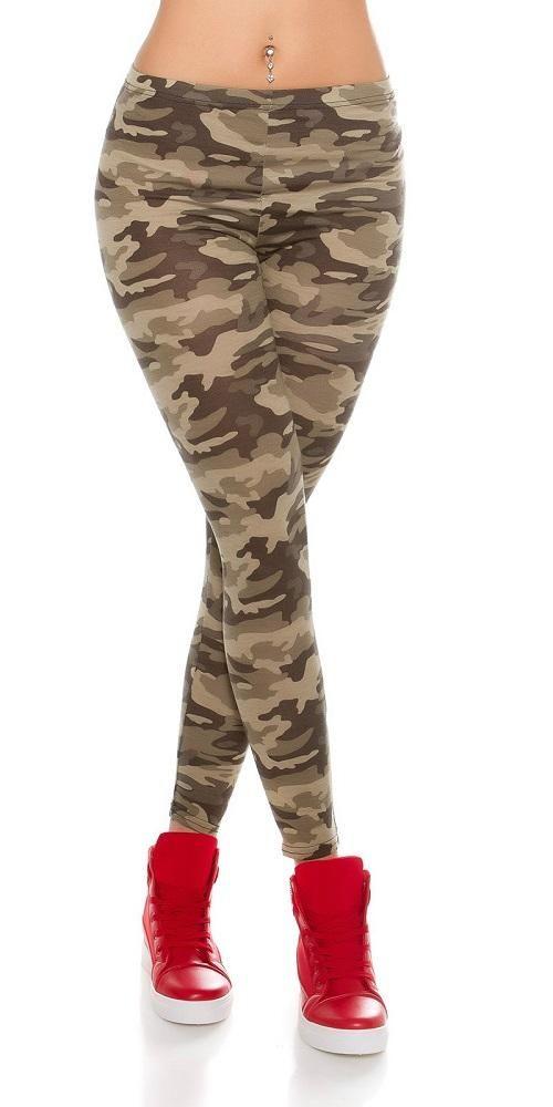 Leggins de moda camufladas